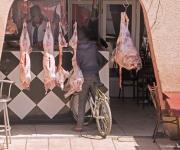 Even langs de plaatselijke slager