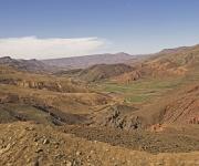 Atlas gebergte, berglandschap, op weg naar de top