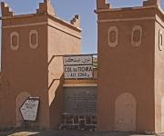De bergpas in het Atlas gebergte, op weg naar Marrakech