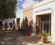Op weg naar Essaouira nog even langs bij Cooperative Marjana