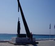Standbeeld Pythagoras in Pythagorion