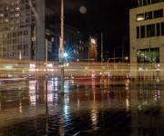 Den Haag, passerende tram
