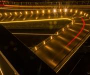 Melkwegbrug Purmerend, fiets en voetgangersbrug