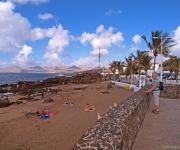 Strandje met uitzicht op het zuidelijk deel van het eiland