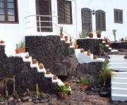 Sfeer, huisje op de rotsen