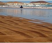 Strand bij Caleta de Famara