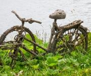 Opgevist uit het Noord-Hollands kanaal