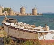 De molens bij Chios city