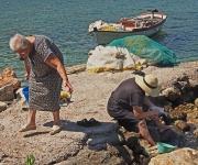 Mesta Port, Chios