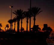 Nethanya, sunset