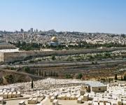 Jeruzalem gezien vanaf de Olijfberg
